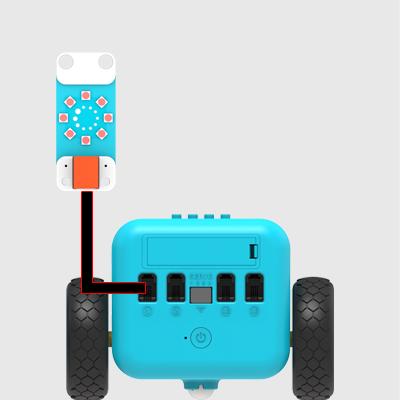 20 Las luces deslumbrantes con sensores TPBot , Jándalo Robótix